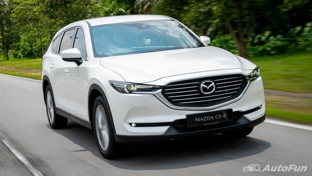 Mazda CX 8 2019 Exterior 007