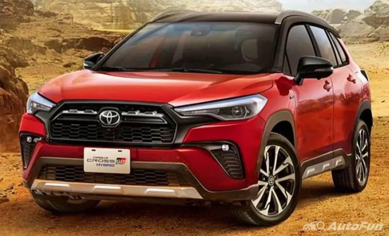 Toyota Corolla Cross GR Sport 2021 -1