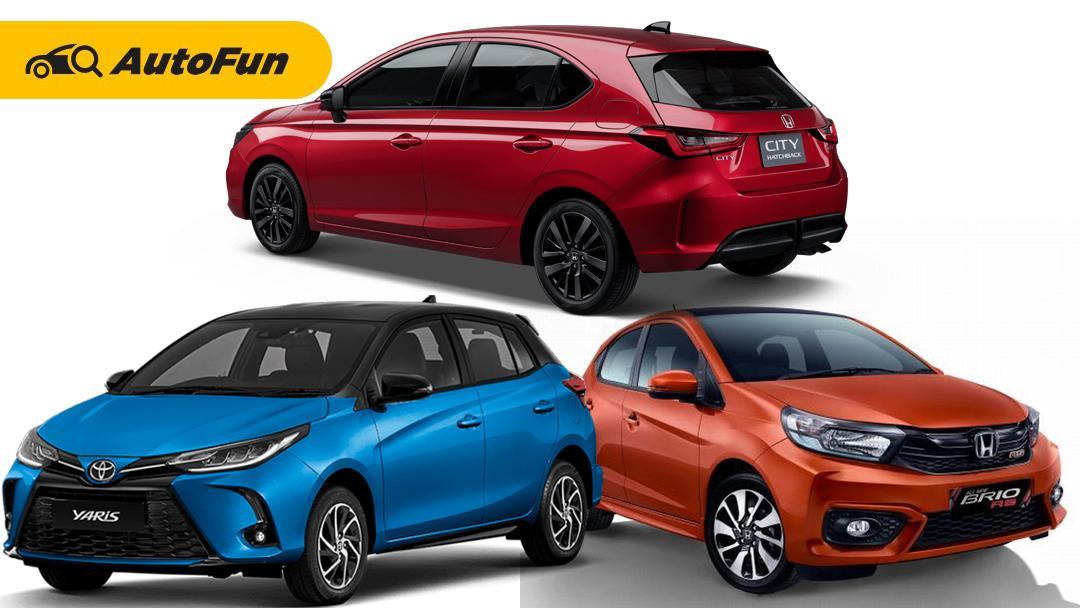 Perang Harga PPnBM Hatchback, dan City Car, Apakah Toyota Yaris 2021 Jadi yang Paling Murah? 01