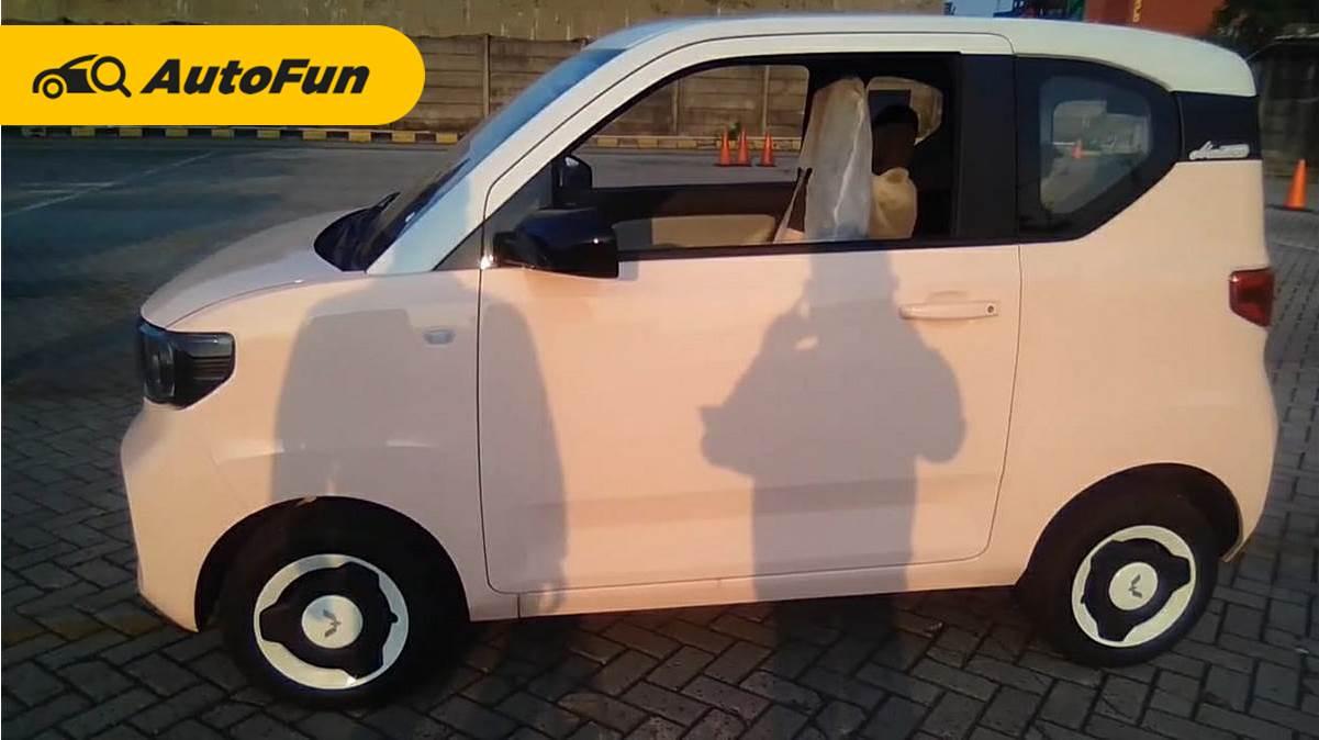 Ini Foto Foto Detil Wuling Hongguang Ev Macaron Mobil Listrik Murah Yang Viral Sudah Masuk Indonesia Autofun