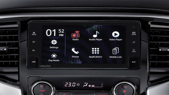 Mitsubishi Triton Exceed MT Double Cab 4WD Interior 002