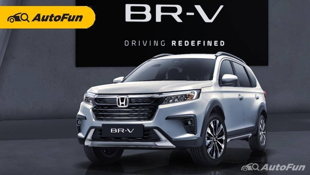 Honda BR-V 2022 Resmi Debut Global di Indonesia, Harga Mulai Rp260 Jutaan 01