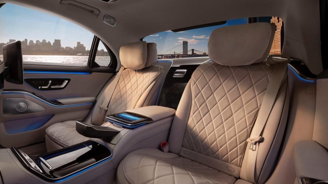 2021 Mercedes-Benz S-Class S 450 4MATIC Luxury Interior 015