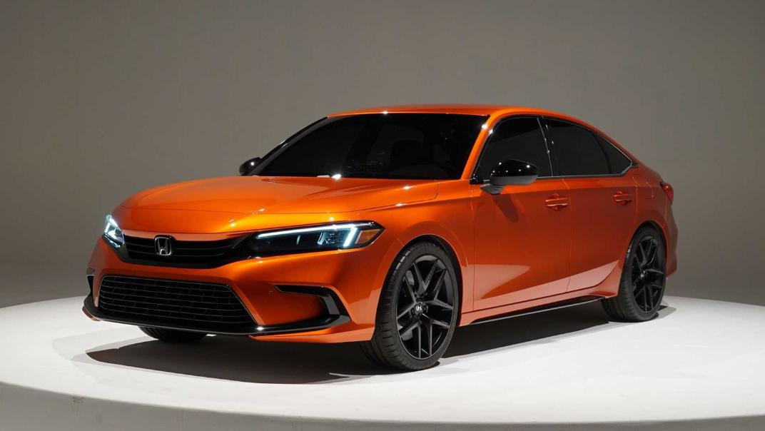 2021 Honda Civic International Version Exterior 001