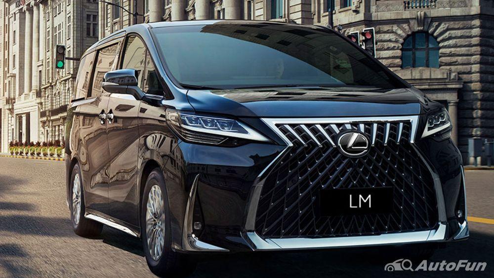 Overview Mobil: 2020-2021Lexus LM dengan eksterior dan daftar harganya 01