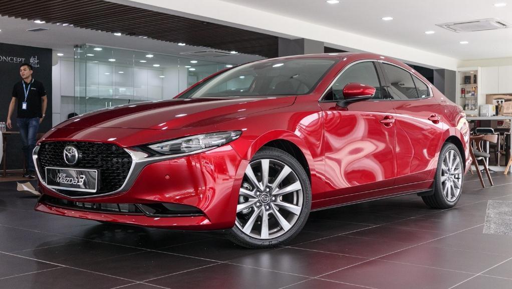 Mazda 3 2019 Exterior 001