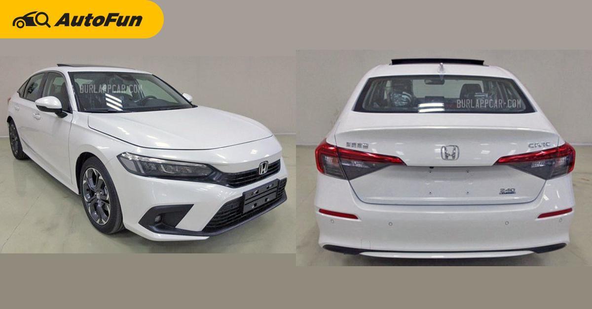 Bocoran Desain All New Honda Civic 2022, Lebih Elegan dan Jadi Sedan Sesungguhnya 01