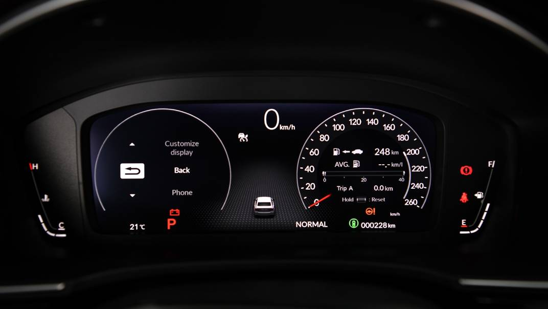 2022 Honda Civic Upcoming Version Interior 025