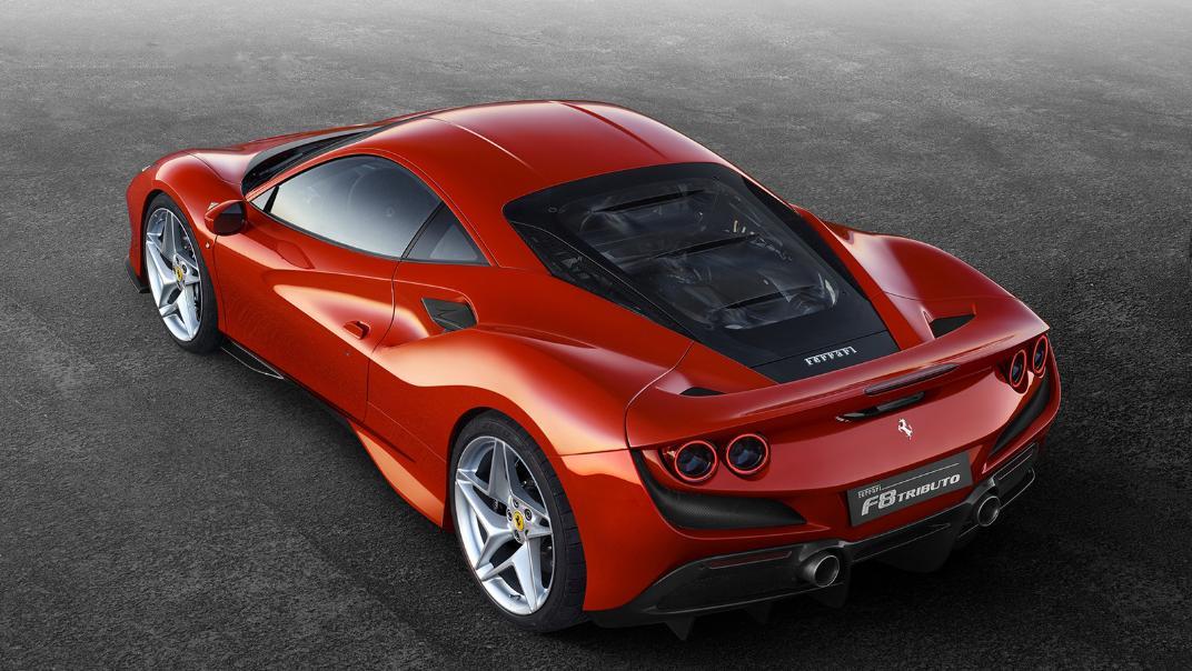 Ferrari F8 Tributo 2019 Exterior 009