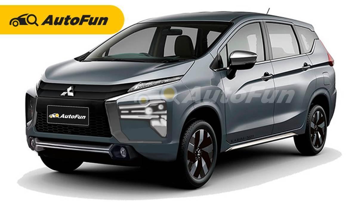 Diam-Diam Mitsubishi Xpander Facelift Dijadwalkan Segera Meluncur untuk Hadang Toyota Avanza 2022 01