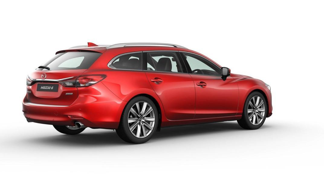 Mazda 6 Elite Estate Exterior 059