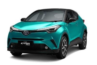 Toyota CHR Hybrid 1.8L