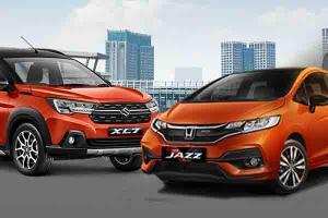 Adu LSUV vs Hatchback Rp300 Jutaan untuk Keluarga, Pilih Suzuki XL7 Alpha atau Honda Jazz RS CVT?