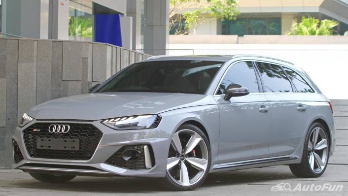 2021 Audi RS 4 Avant Exterior 001