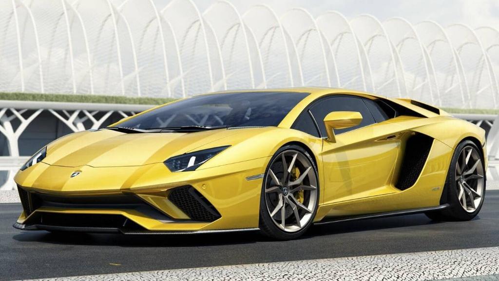 Lamborghini Aventador 2019 Exterior 036