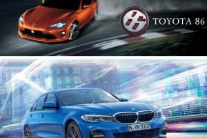 Komparasi Kenyamanan Berkendara Toyota 86 vs BMW 320i, Mana yang Lebih Bagus?