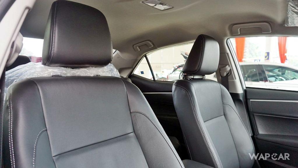 Toyota Corolla Altis 2019 Interior 181
