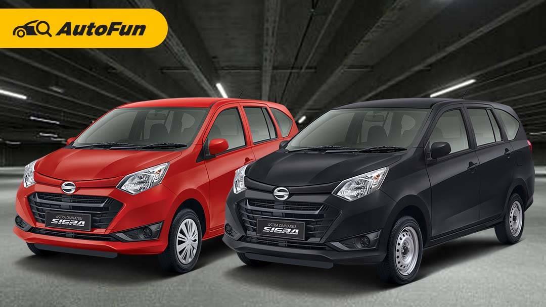 Selisih Rp10,4 Juta, Apa Aja Sih Perbedaan Daihatsu Sigra M dengan Sigra D? 01
