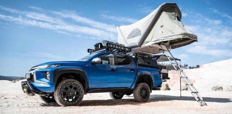 Mitsubishi Triton Dengan Roof Tent, Kemping di Bumi Perkemahan Bikin Lupa Mudik Lebaran 02