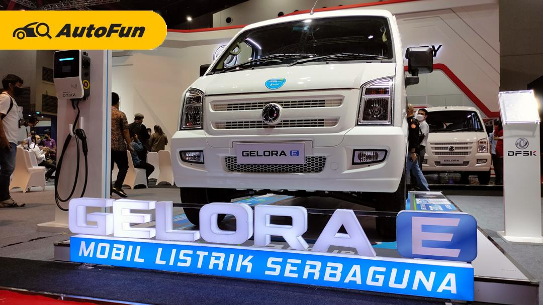 DFSK Gelora E Mulai Dijual, Mobil Niaga Teknologi Elektrifikasi Berbanderol Mulai Rp480 Juta 01
