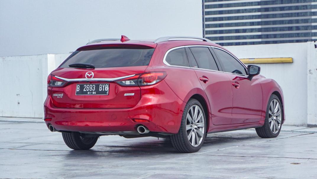 Mazda 6 Elite Estate Exterior 005