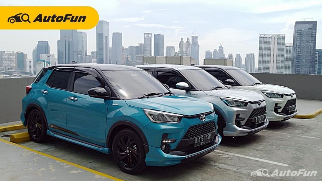 Toyota Raize Sudah Dipesan Lebih dari 1.200 Unit Kurang Dari Seminggu, Paling Banyak Tipe GR Sport 01