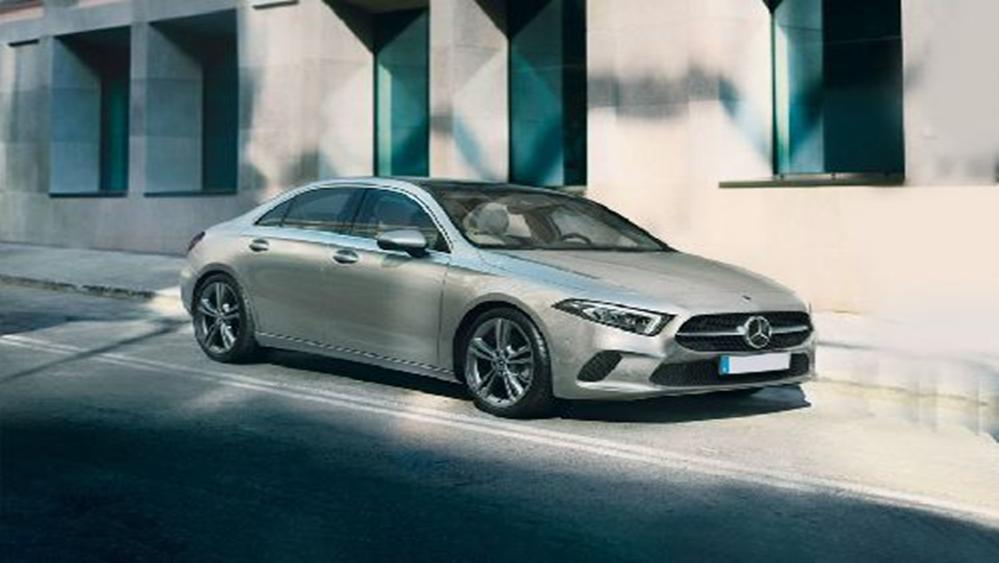Mercedes-Benz A-Class Sedan 2019 Exterior 002