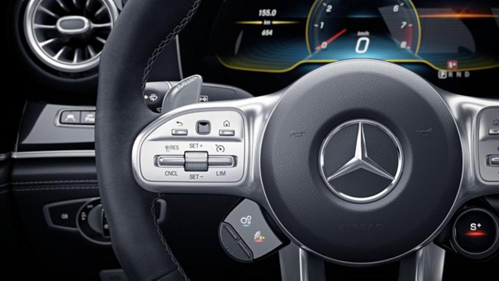 Mercedes-Benz AMG GT 2019 Interior 004