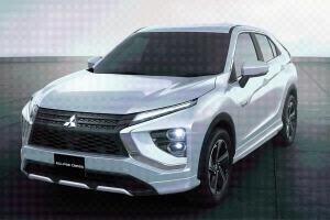 Hanya 500 Jutaan, Mitsubishi Eclipse Cross PHEV 2021 Resmi Diluncurkan di Jepang