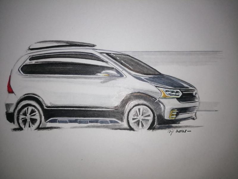 Sketsa Mobil Pilihan Jutaan Konsumen Apa Bedanya Toyota Avanza 2015 Di Atas Kertas Autofun