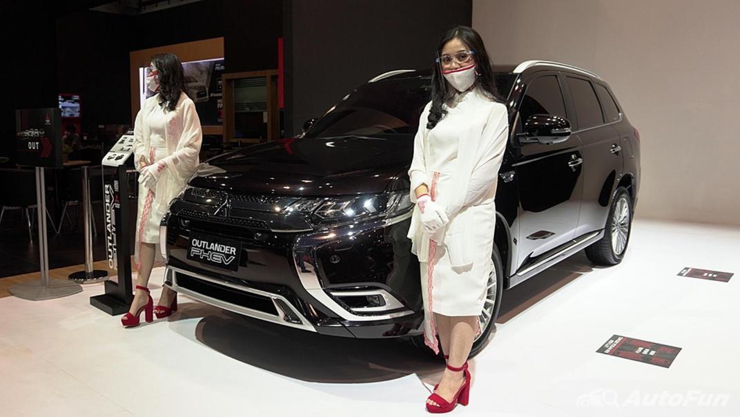 2021 Mitsubishi Outlander PHEV Exterior 001
