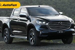 Mazda BT-50 2021 Siap Tantang Mitsubishi Triton dan Toyota Hilux di Indonesia