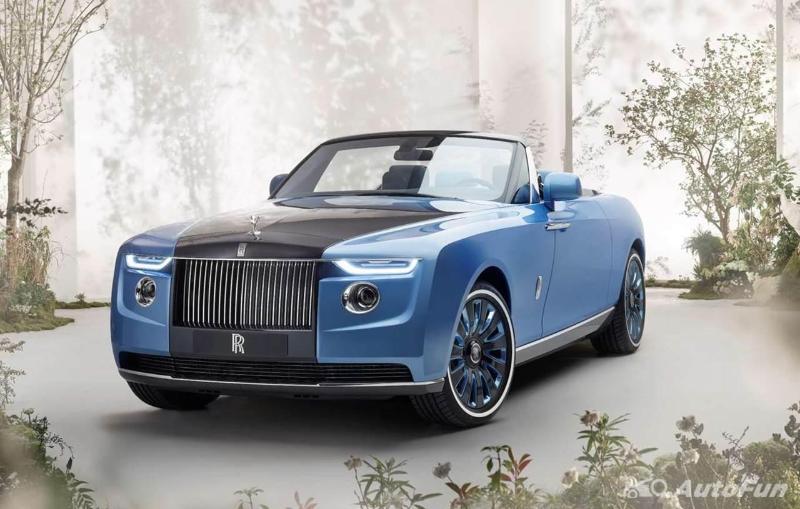 Rolls-Royce Boat Tail 2021