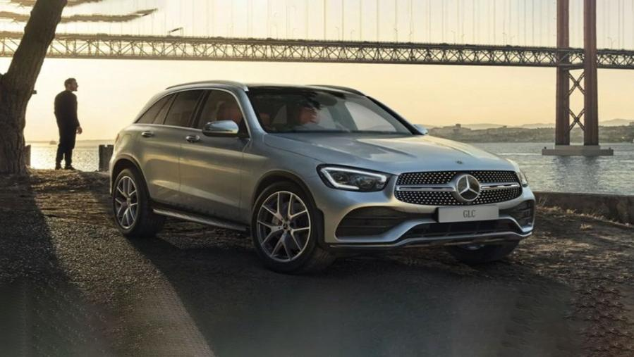 Mercedes-Benz GLC-Class 2019 Exterior 004