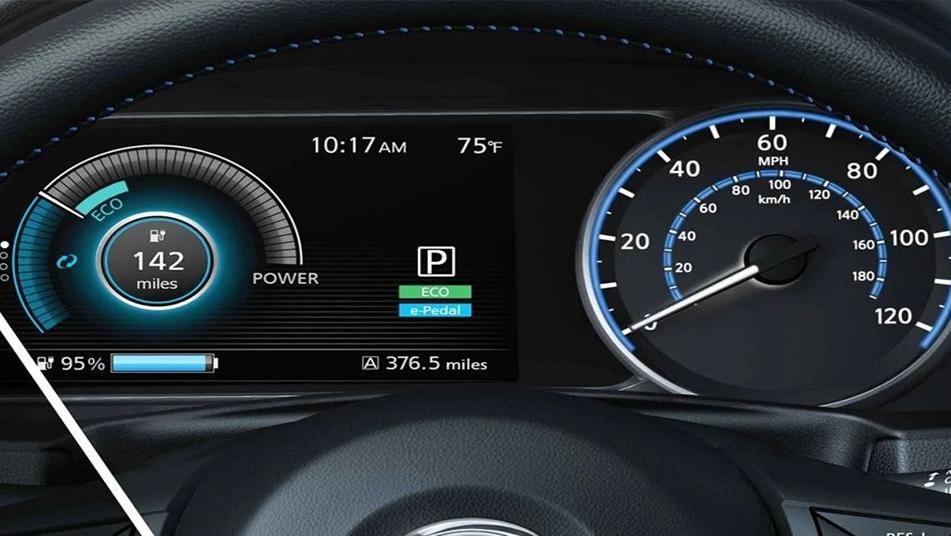 Nissan Leaf 2019 Interior 003