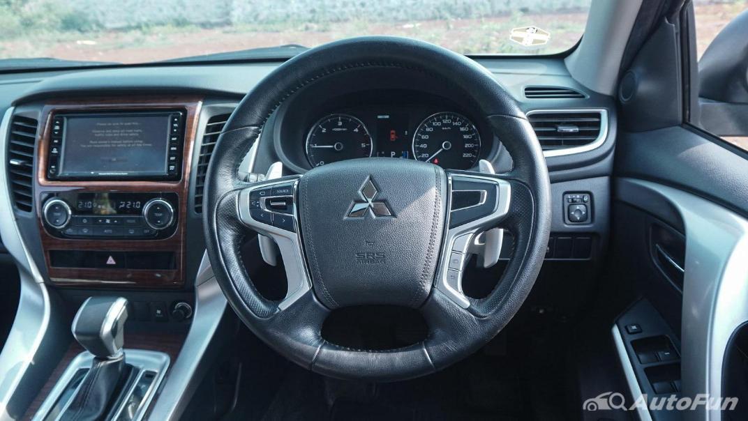 Mitsubishi Pajero Sport Dakar 4x4 AT Interior 007