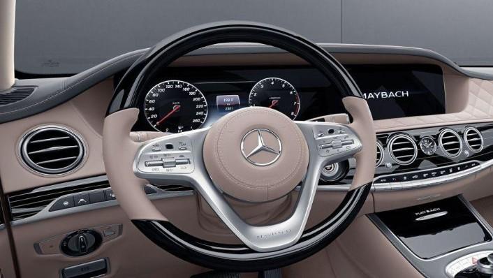 Mercedes-Benz S-Class 2019 Interior 001