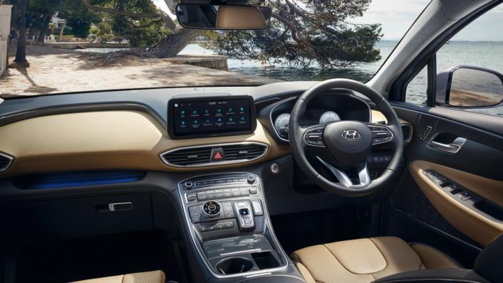 2021 Hyundai Santa Fe Interior 001
