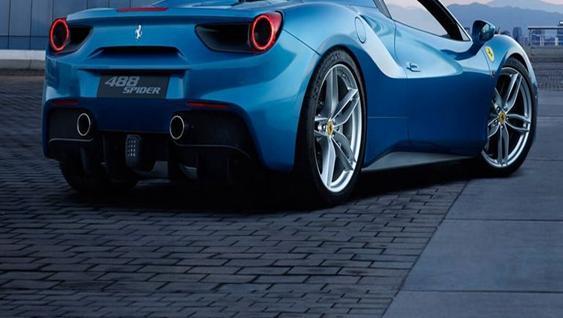 Ferrari 488 Spider 2019 Exterior 011