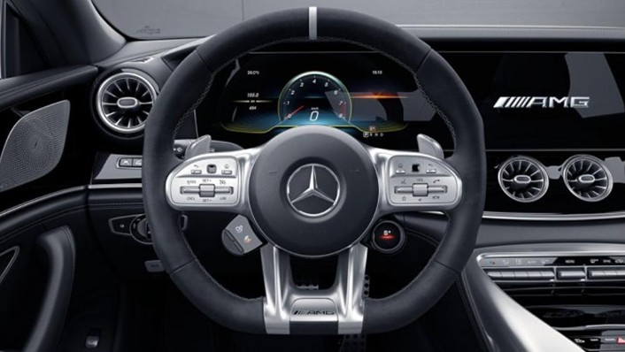 Mercedes-Benz AMG GT 2019 Interior 002