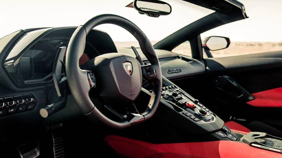 Lamborghini Aventador 2019 Interior 008