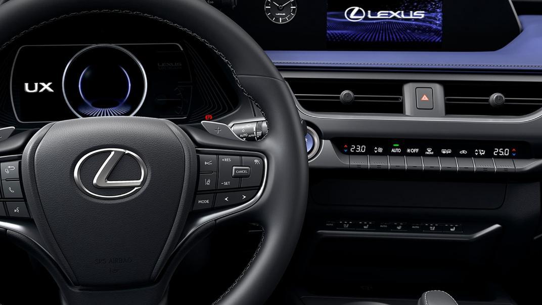2021 Lexus UX 300e Interior 001