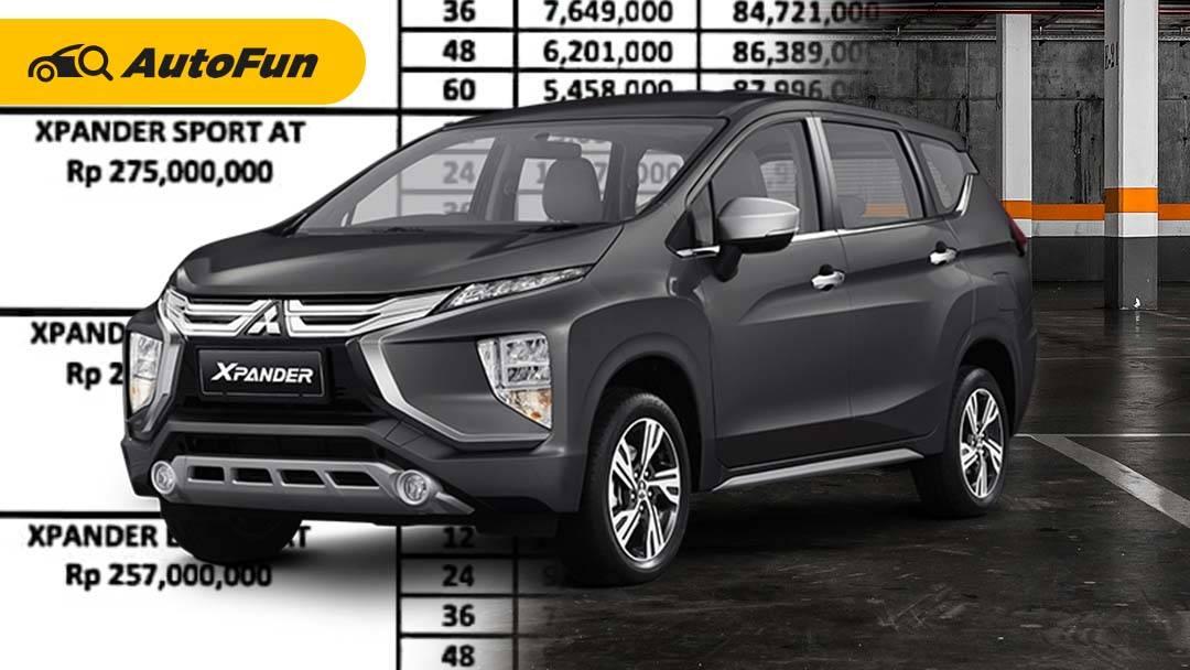Skema Kredit Mitsubishi Xpander dengan Diskon PPnBM 25%, Cicilan Termurahnya Rp4 Jutaan! 01