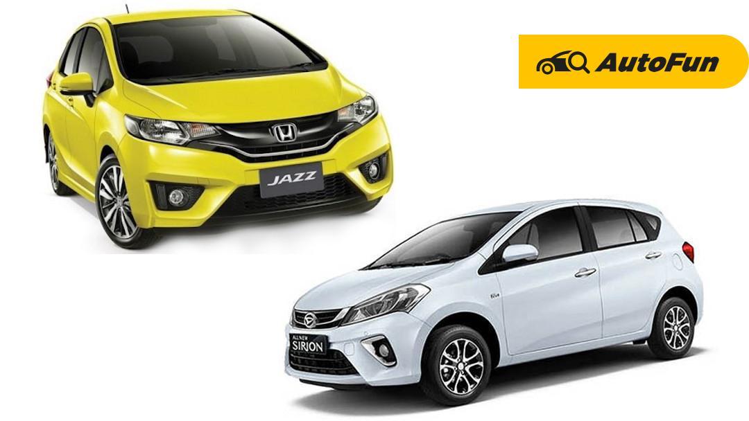 Duel Biaya Perawatan Daihatsu Sirion dan Honda Jazz, Mana yang Lebih Murah? 01