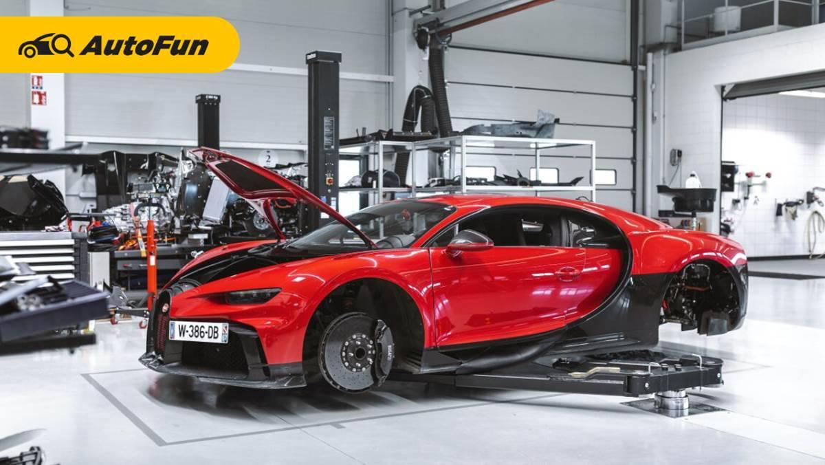 Jangan Kaget Lihat Biaya Servis Bugatti Chiron, Sekali Ganti Oli Bisa Kebeli Xpander Bekas 01