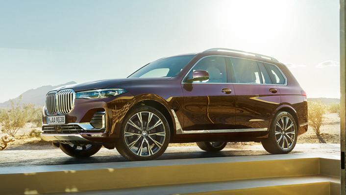 2021 BMW X7 xDrive40i Opulence Exterior 005