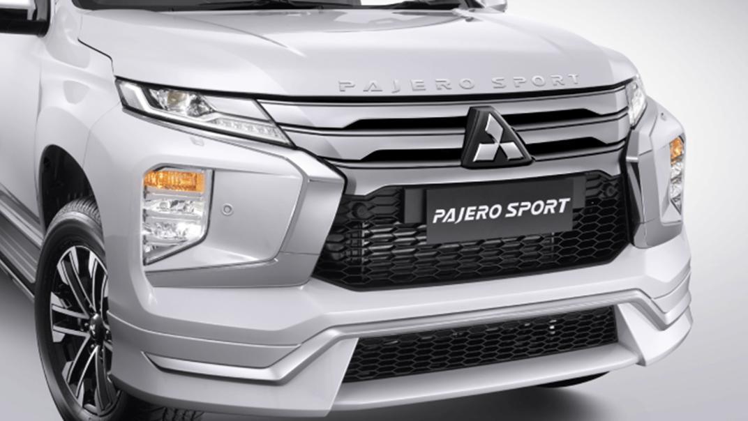 2021 Mitsubishi Pajero Sport Exterior 001