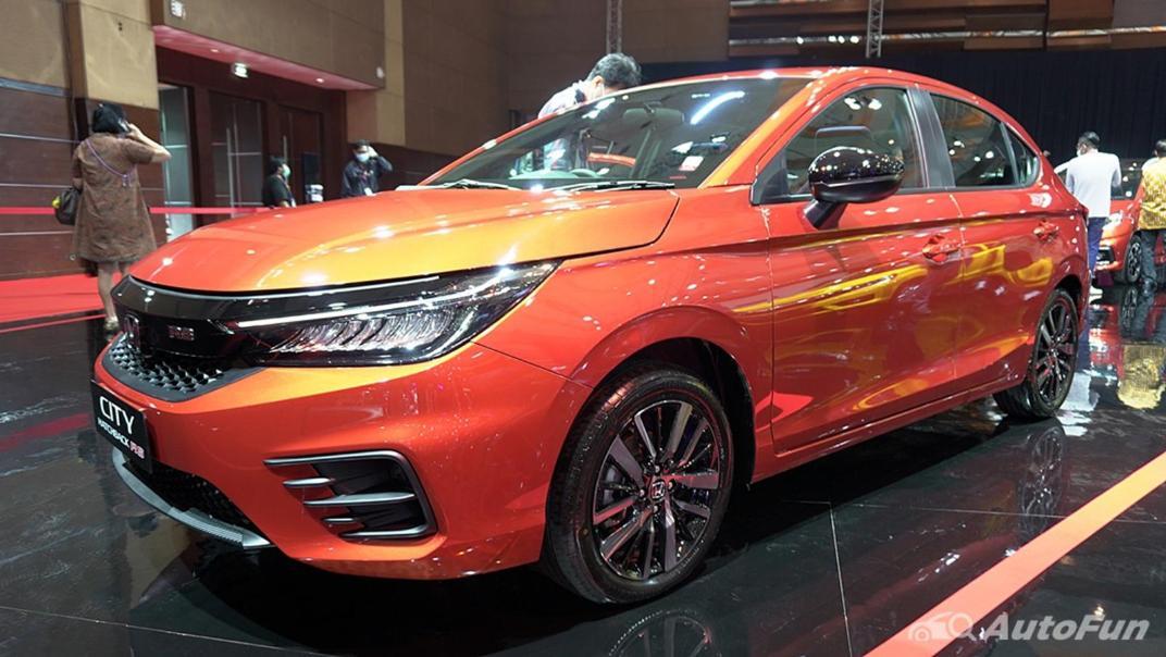 2021 Honda City Hatchback RS 1.5 CVT Exterior 016
