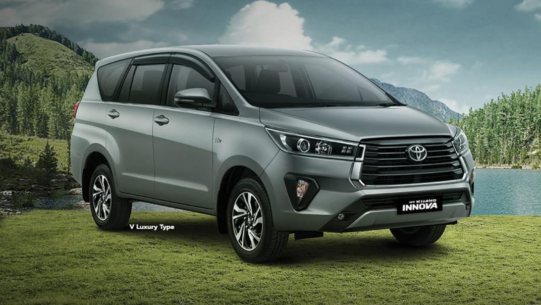 2020 Toyota Kijang Innova 2.0 V Luxury A/T Exterior 001