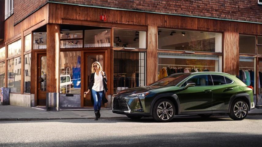 Lexus UX 2019 Exterior 011